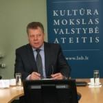 Valstybės tarnybos departamento direktorius Osvaldas Šarmavičius